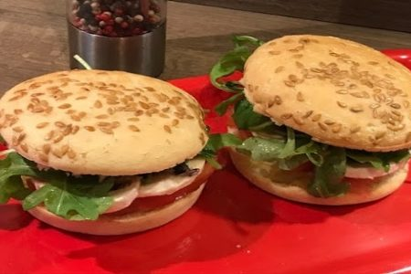 Hamburger sans gluten vegan healthy